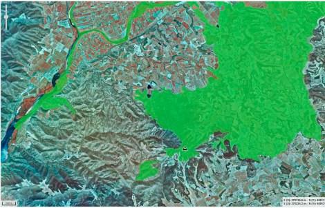 Mapa Espais protegits