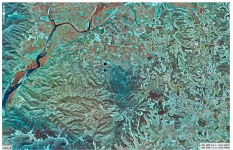 Ortofotomapa infrarrojos