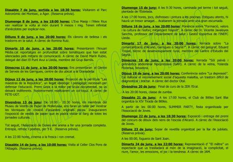 Alcanó Cultura 2012
