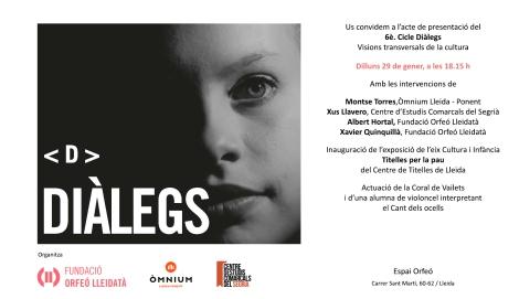 Invitació_Sessió inaugural_Cicle_Diàlegs